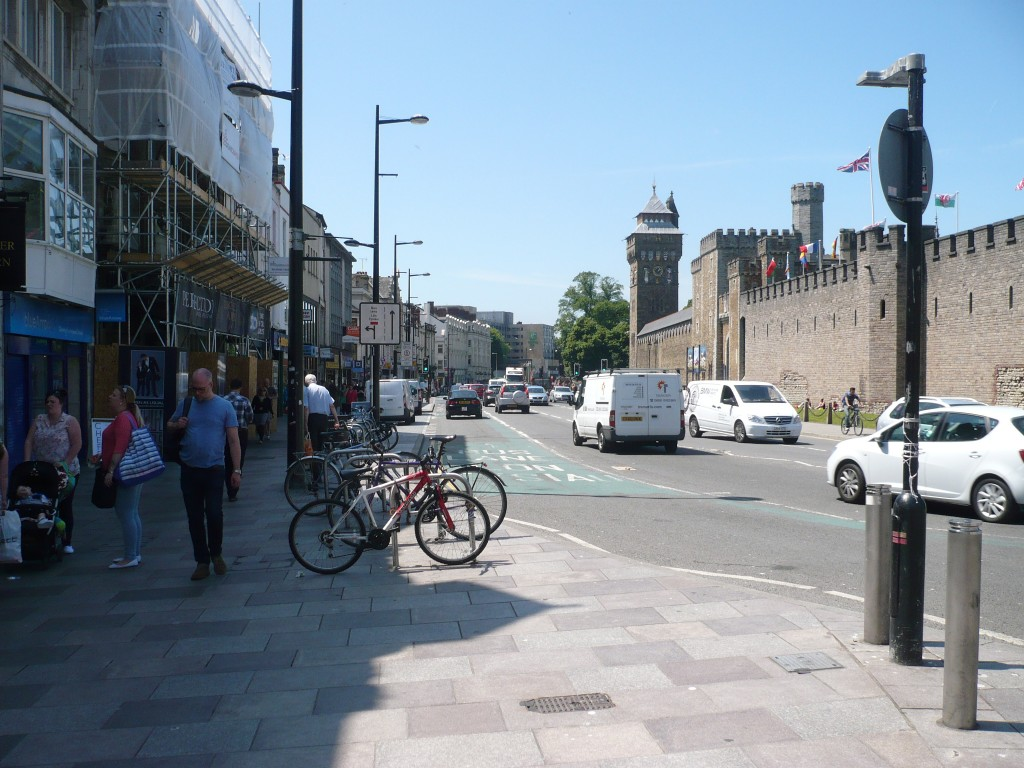 Cardiff is a city where old and new meet in sometimes unexpected ways. A good place for Games Wales.