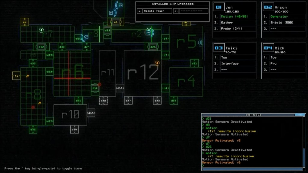 Red bad. Blocked door bad. That the ship stops responding to my door commands soon after? BAD.